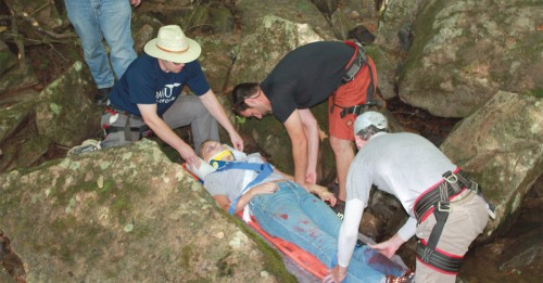 Experiencing Wilderness Medicine at New River Gorge