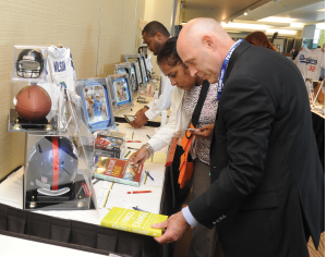EMF's Silent Auction features memorabilia from some of the world's most popular and influential celebrities.