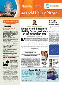 ACEP14 monday daily