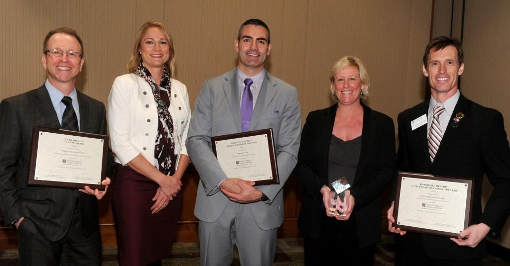 2014-15 Faculty Speaker Awards