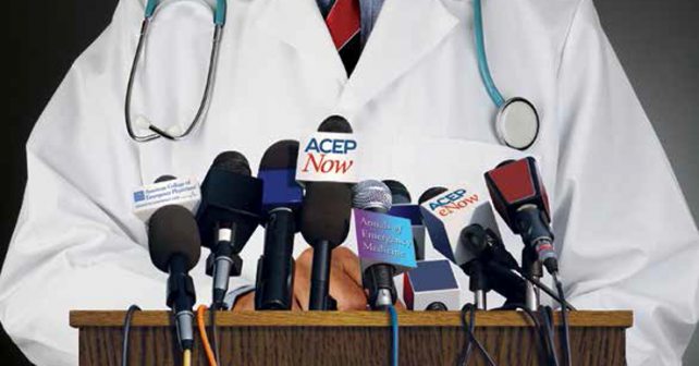 ACEP President Dr. Michael Gerardi Shares Views on Challenges Facing Emergency Medicine