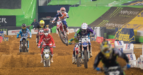 Emergency Physicians Provide Medical Treatment in Supercross Stadiums