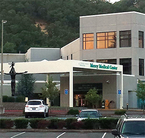 Mercy Medical Center, a hospital located in Roseburg, Oregon.