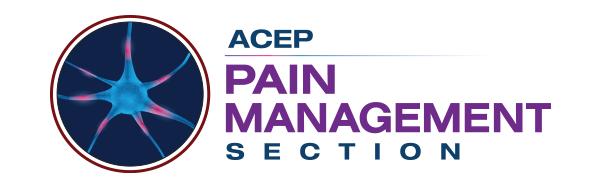 ACEP Pain Management