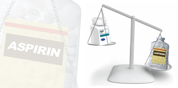 Aspirin statin