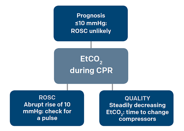 Figure 3. Using EtCO2 During CPR