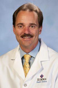 Jeffrey Wright, MD, president of Summa Emergency Associates