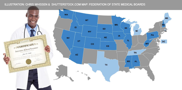 Compact State Map.The Interstate Medical Licensure Compact Is Live Acep Now