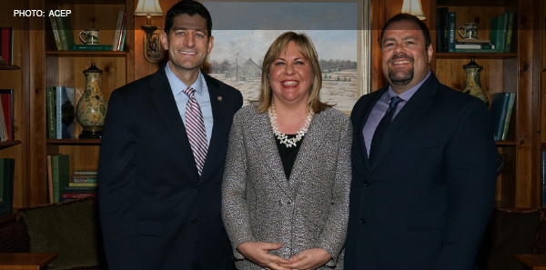 ACEP's Role at Fundraiser for Speaker of the House Paul Ryan an Example of Access to Legislators through NEMPAC