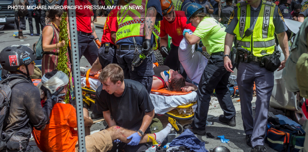 UVAHS Emergency Team Helps Victims in Charlottesville Protest Tragedy