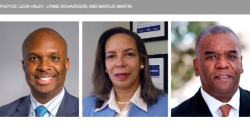 PHOTOS: Leon Haley, lynne Richardson, and Marcus Martin