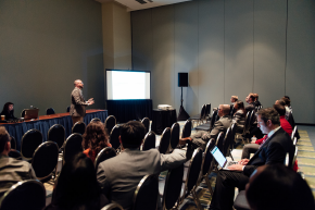 Presenters at the ACEP17 Research Forum.<br>Photos: Paul Kim and ACEP