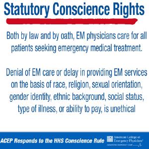 Statutory Conscience Rights