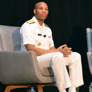 U.S. Surgeon General Jerome Adams, MD, MPH, address the audience at LAC.
