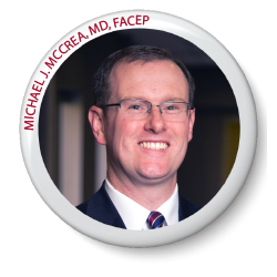 MICHAEL J. MCCREA, MD, FACEP (OHIO)