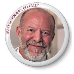 MARK ROSENBERG, DO, FACEP (INCUMBENT, NEW JERSEY)