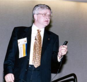 Dr. Henry speaking at past ACEP meetings.