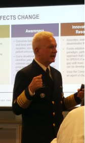 ACEP Adm. Brett P. Giroir, MD, delivers the keynote address at the Emergency Department Sickle Cell Care Coalition summit.