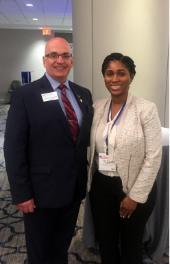 L. Anthony Cirillo, MD, FACEP, (left) and Valerie A. Pierre, MD.