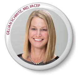 Gillian Schmitz, MD, FACEP (incumbent, Government Services)