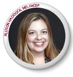 Allison Haddock, MD, FACEP (incumbent, Texas)