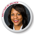 Aisha T. Terry (formerly Liferidge) MD, MPH, FACEP (incumbent, Washington, D.C.)